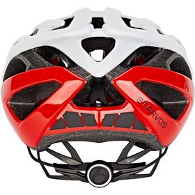 Bontrager Starvos Road Bike Helmet Trek White/Viper Red